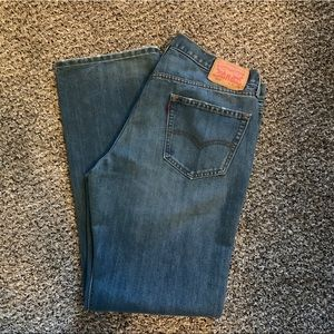 Medium Washed Levi's